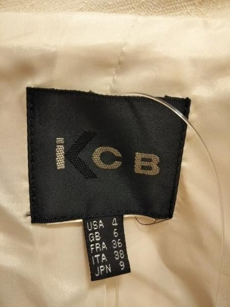 ICB(アイシービー) スカートスーツ レディース アイボリー