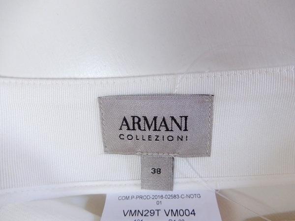 アルマーニコレッツォーニ スカート サイズ38 S レディース美品  白