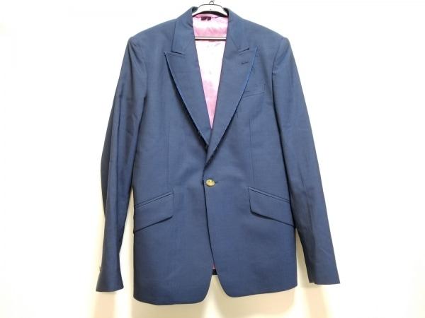 ヴィヴィアンウエストウッドマン ジャケット サイズ48 XL メンズ美品  ネイビー