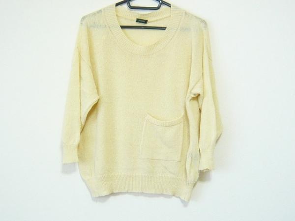 ZANONE(ザノーネ) 長袖セーター サイズ40 M レディース アイボリー