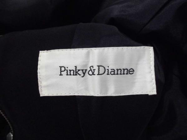 ピンキー&ダイアン レディースパンツスーツ レディース 黒 ジップアップ