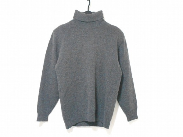 INGEBORG(インゲボルグ) 長袖セーター レディース グレー タートルネック/肩パッド