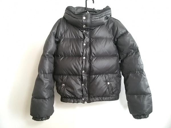 エディション ダウンジャケット サイズ38 M レディース美品  黒 ショート丈/冬物