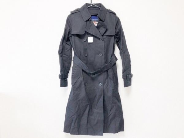 ルージュヴィフ トレンチコート サイズ36 S レディース美品  ネイビー 春・秋物