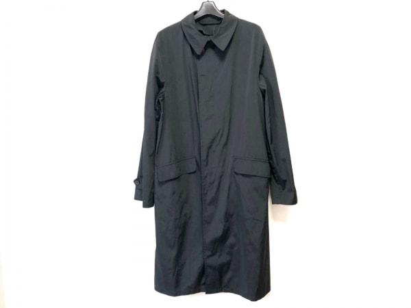 ジョルジオアルマーニクラシコ コート サイズ48 XL メンズ 黒 春・秋物