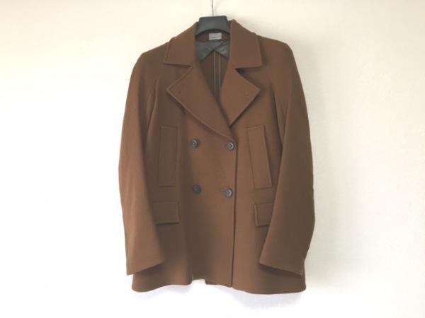 MANTU(マントゥ) コート サイズ40 M レディース ブラウン