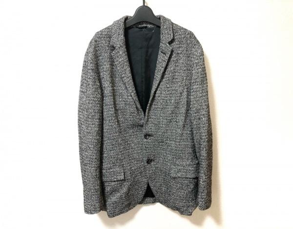 KEMIT(ケミット) ジャケット メンズ美品  黒×白