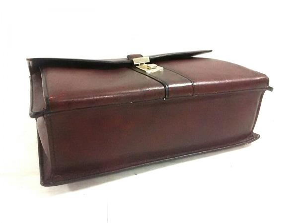 ゴールドファイル ビジネスバッグ美品  ブラウン ダイヤルナンバー「000」 レザー