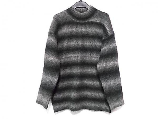 オープニングセレモニー 長袖セーター サイズM レディース 黒×グレー