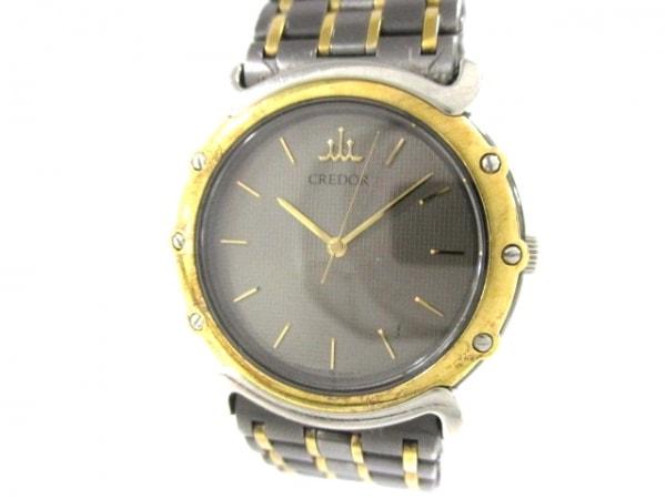 SEIKO CREDOR(セイコークレドール) 腕時計美品  9571-6050 メンズ ダークブラウン