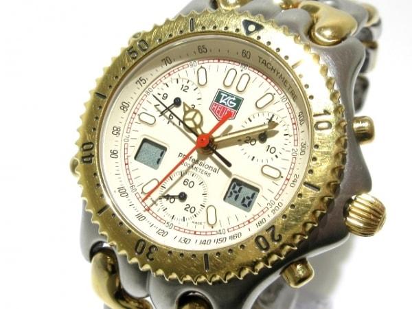 TAG Heuer(タグホイヤー) 腕時計 プロフェッショナル200 CG1123-0 メンズ ベージュ