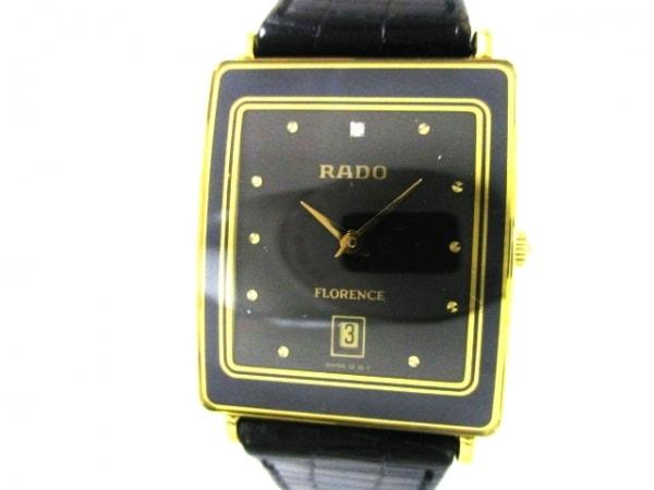RADO(ラドー) 腕時計 フローレンス 160.2605.2 メンズ 黒