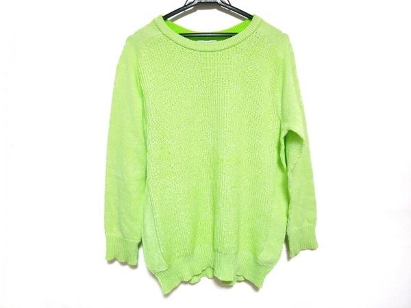 オープニングセレモニー 長袖セーター サイズM レディース ライトグリーン