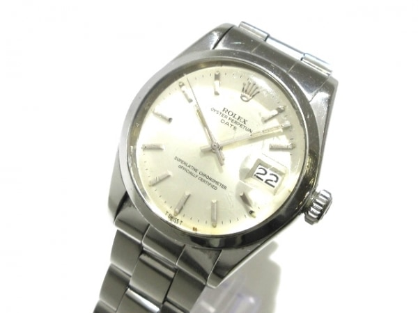 ROLEX(ロレックス) 腕時計 オイスターパーペチュアルデイト 1500 メンズ シルバー
