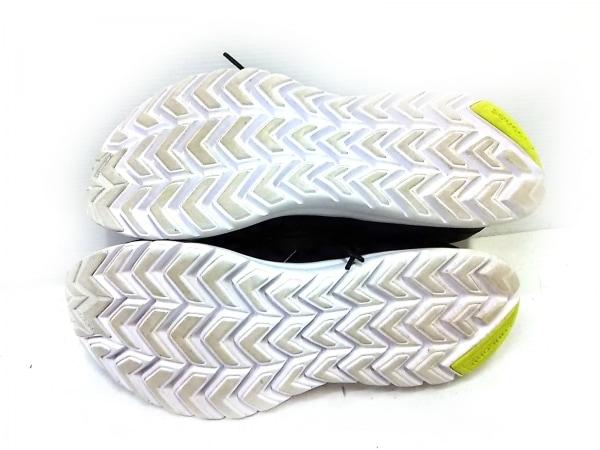 SAUCONY(サッカニー) スニーカー メンズ 黒×白×イエロー 化学繊維