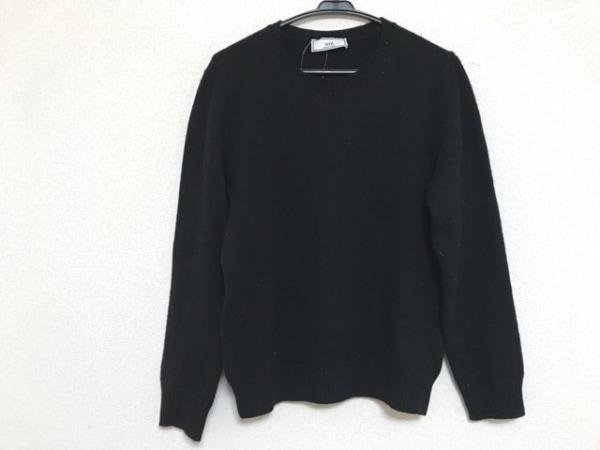 AMIalexandremattiussi(アミアレクサンドルマテュッシ) 長袖セーター メンズ 黒