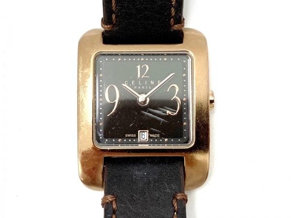 CELINE(セリーヌ) 腕時計 - レディース 黒