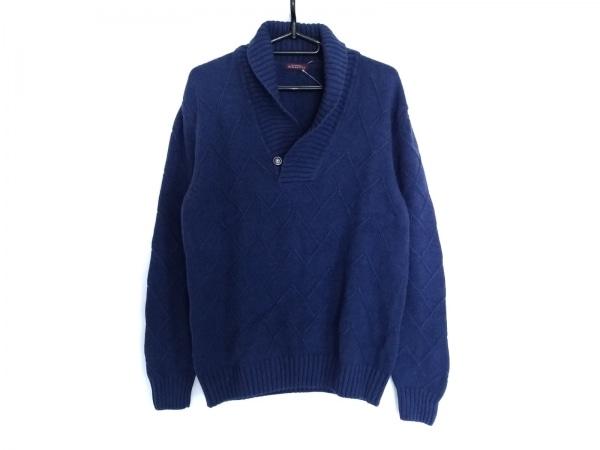 Ballantyne(バランタイン) 長袖セーター サイズL メンズ美品  ネイビー