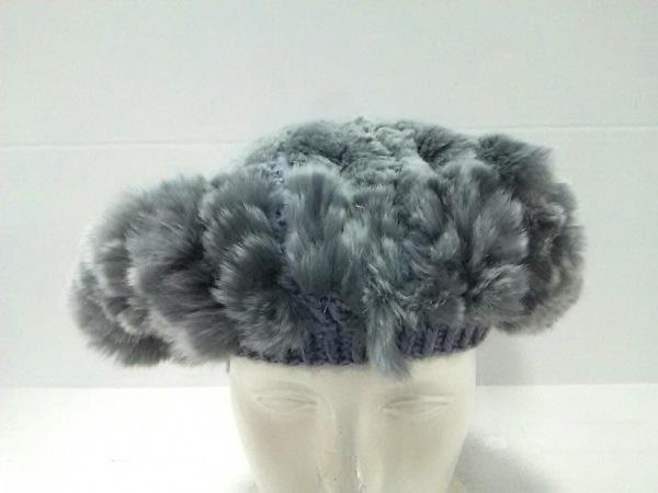ヘレンカミンスキー 帽子 ONESIZE新品同様  ダークグレー レッキスファー