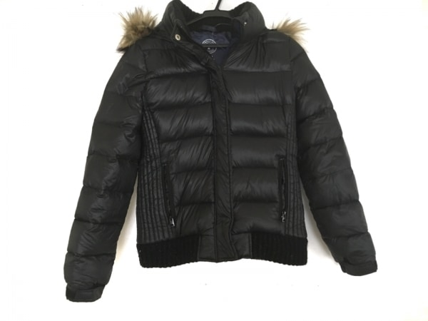 アメリカンイーグル ダウンジャケット サイズM レディース美品  黒 冬物