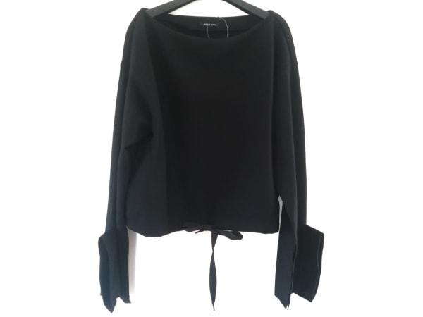 AULA(アウラ) 長袖カットソー サイズ0 XS レディース 黒