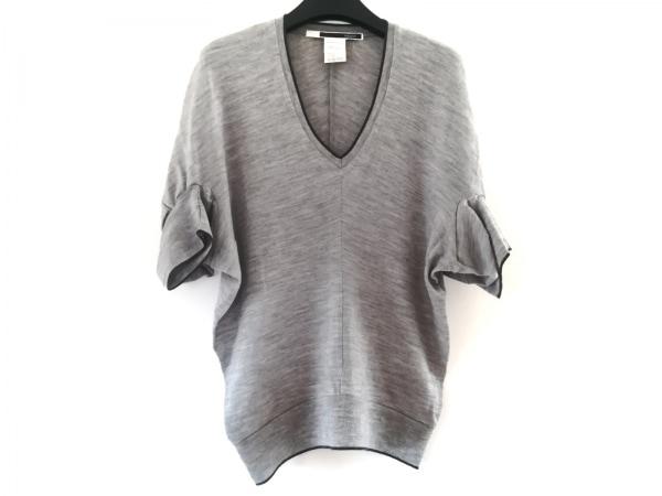 sakayori(サカヨリ) 半袖セーター レディース グレー