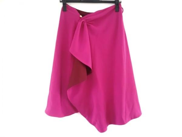 sakayori(サカヨリ) 巻きスカート サイズ36 S レディース美品  ボルドー