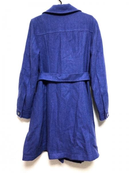 cassandre(カサンドレ) コート サイズ42 L レディース ブルー×パープル 冬物