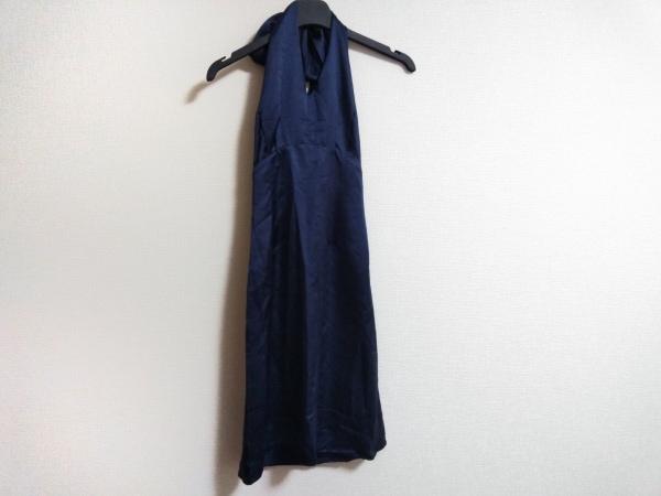 ボディドレッシングデラックス ドレス サイズ9 M レディース美品  ネイビー