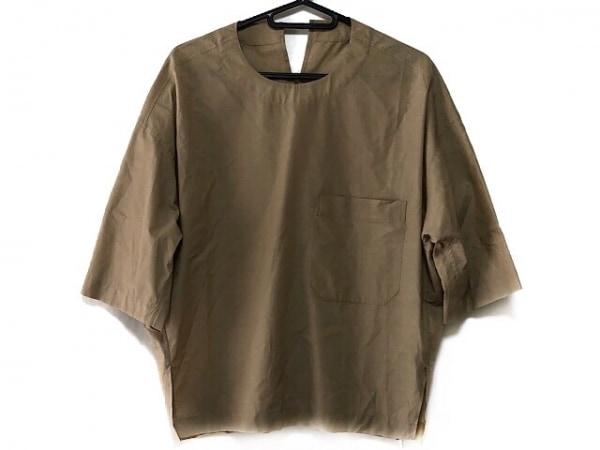 ビューティフルピープル 半袖カットソー サイズ36 S レディース美品  ベージュ