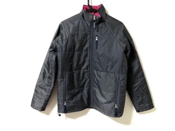 エックスガール ダウンジャケット サイズ2 S レディース美品  - グレー 長袖/冬