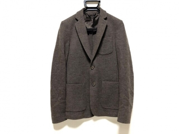 GUCCI(グッチ) ジャケット サイズ44 S メンズ ブラウン 春・秋物