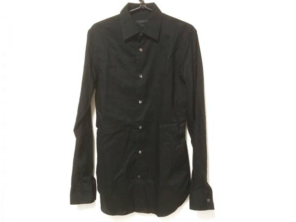 ANN DEMEULEMEESTER(アンドゥムルメステール) 長袖シャツ サイズXS メンズ 黒