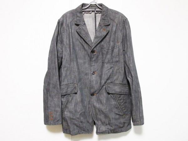 ABAHOUSE(アバハウス) ジャケット サイズ3 L メンズ 黒 デニム