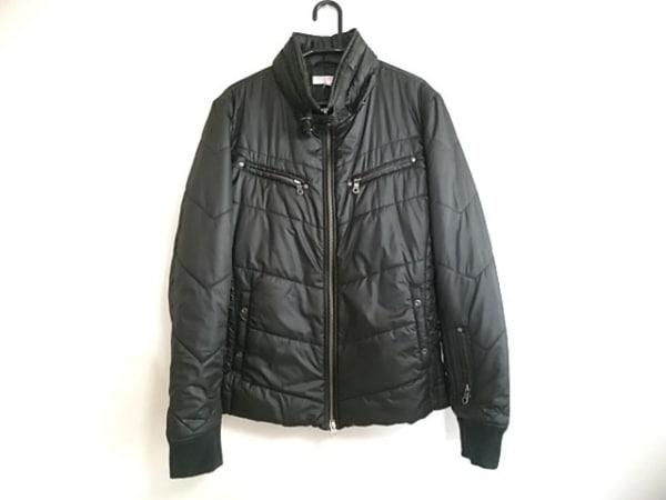 HIDEAWAYS NICOLE(ハイダウェイニコル) ダウンジャケット サイズ50 メンズ 黒 冬物