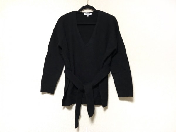 エリザベスアンドジェームス 長袖セーター サイズS レディース 黒