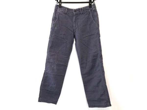 chimala(チマラ) パンツ サイズ28 L レディース パープル 型押し加工