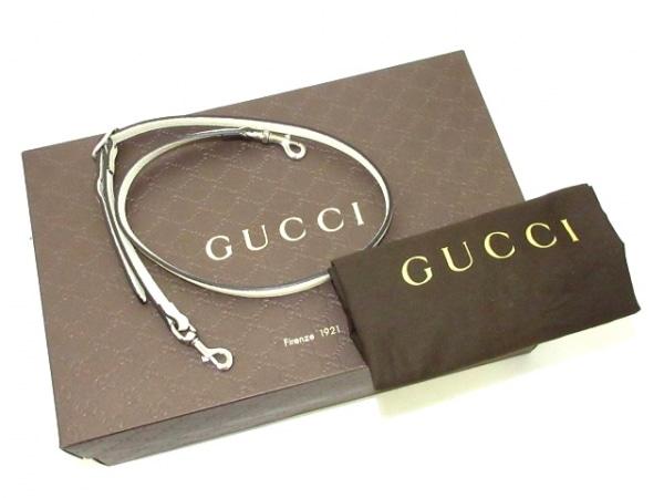 GUCCI(グッチ) ハンドバッグ美品  バンブーデイリー 370831 アイボリー レザー