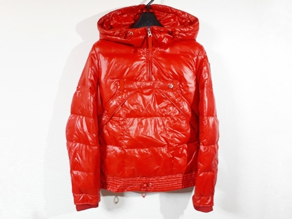 NAPAPIJRI(ナパピリ) ダウンジャケット サイズM レディース新品同様  レッド 冬物