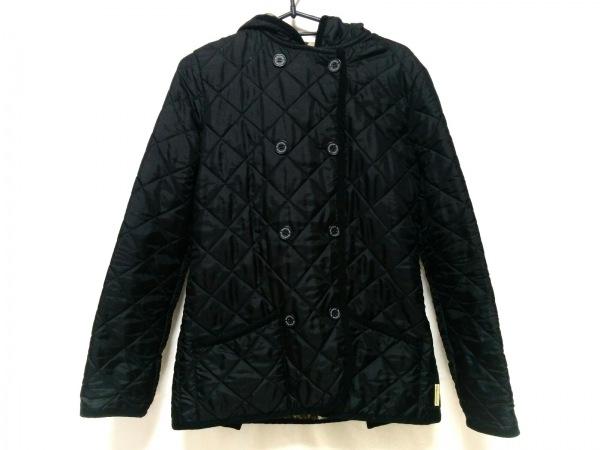 トラディショナルウェザーウェア コート サイズ36 M レディース 黒 冬物