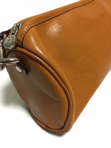 HIROFU(ヒロフ) ハンドバッグ美品  ライトブラウン レザー