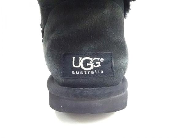 UGG(アグ) ショートブーツ レディース 黒 ムートン 5