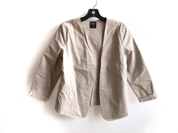 ケイトスペードサタデー ジャケット サイズS レディース美品  ライトブラウン