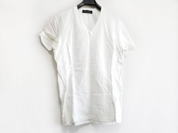 LITHIUMHOMME(リチウムオム) 半袖Tシャツ サイズ44 L レディース 白