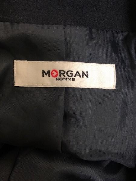 MORGAN(モルガン) Pコート サイズLL レディース美品  ダークネイビー 冬物