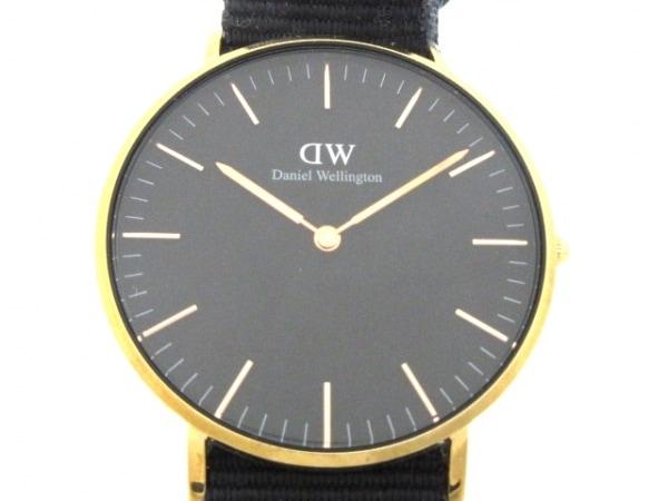 Daniel Wellington(ダニエルウェリントン) 腕時計 E36R1 ボーイズ 黒