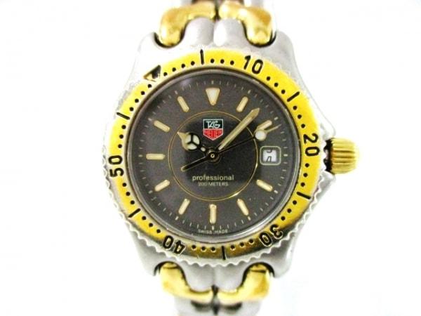 タグホイヤー 腕時計 プロフェッショナル200 S95.215 レディース ダークグレー