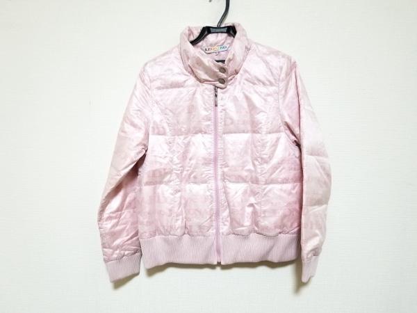 LEONARD(レオナール) ダウンジャケット サイズ42 L レディース ピンク SPORT/冬物