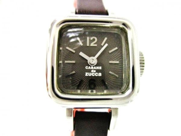 ZUCCA(ズッカ) 腕時計美品  Y150-0BW0 レディース CABANEdeZUCCA/革ベルト 黒