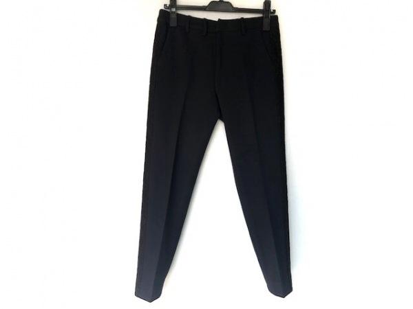 Shinzone(シンゾーン) パンツ サイズ36 S レディース ダークネイビー×黒 レース